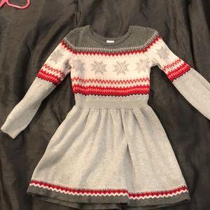 Gymboree Size 6 Sweater Dress. Excellent